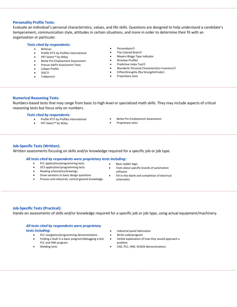 hiring survey report