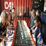 foosball during team building